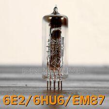 Pair 6E2/6HU6/EM87 NOS Tuning Eye Vacuum Tube Indicator LOW Level Input 2pcs
