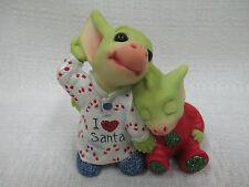 Whimsical World Of Pocket Dragons Listening for Santa Real Musgrave Christmas