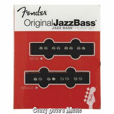 Fender Original Jazz J Bass Pickup Set Bridge Neck Pickups 0992123000 NEW
