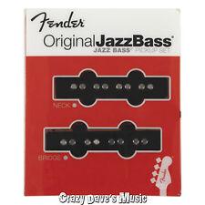 Fender Original Jazz J Bass Pickup Set Bridge Neck Pickups 0992123000 NEW