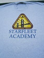 STAR TREK the next generation XL T-SHIRT star trek academy cadet
