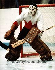 1972 SUMMIT Series vs RUSSIA Tony ESPOSITO Blackhawks ACTION Custom LAB 8X10 WOW