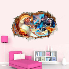 Pokemon Go X Y Game Charizard Wall Decal Mural Vinyl Sticker Kids Room Decor Art