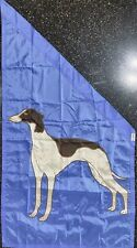 Bisgrove Angled Outdoor Flag Greyhound Dog - Nos - Free Shipping