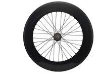 Carbon Track Bike Wheels Front 5 Spoke Wheel Rear 88mm Clincher Fixed Gear Wheel