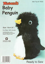 BABY Penguin MINI toy making kit da Minicraft-pronto a Sew