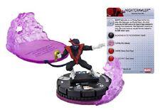 Marvel Heroclix Uncanny X-Men-Nightcrawler #044 + Clix FX base