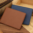 Men's Leather Thin Wallet Credit Card ID Holder Money Clip Purse