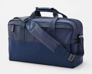 NWT Peter Millar Crown Seal Duffle Duffel Bag, Navy, $198