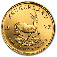 1973 South Africa 1 oz Gold Krugerrand - SKU #63130