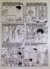 """MOEBIUS  """"MAD WOMAN OF SACRED HEART""""  A. Jodorowsky  page 57  ART TRANSPARENCY"""