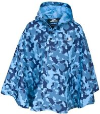 Trespass Boys Soldier Poncho - Blue
