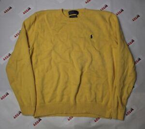 Polo Ralph Lauren Sweater Men's XL Yellow