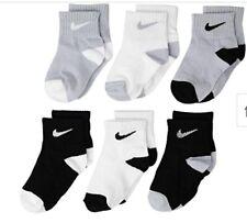 New Nike Socks Lightweight Nike Infant Socks 6 Pair Nike Baby Socks 12-24 montha