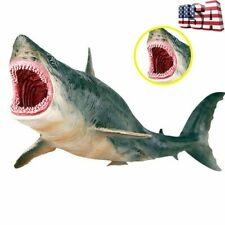 Megalodon Ancient Shark Wild Animal Figure Model Toy Collector Decor Xmas Gift