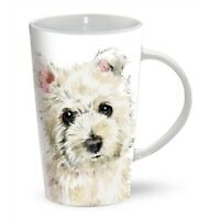 WESTIE PUPPY Tall Latte Mug | Great Gift for a West Highland White Terrier Lover
