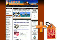 Amazon Store Travel Website for Sale. AdSense, Youtube, Automated RSS News
