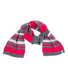 ESPRIT Knitted Scarf One Size Striped Pattern Melange Effect