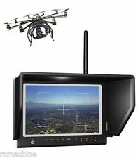 "Lilliput 7"" 664/W Monitor for FatShark 5.8GHz FPV Wireless Camera Omni Antenna"