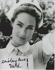 Shirley Anne Field Signed Photo - Carla from ALFIE - MIchael Caine co star G720