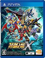 USED PS Vita Super Robot Taisen X Japan import