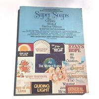 Super Soaps The Complete Book of Daytime Drama 1977 Paperback Kutler and Kearney