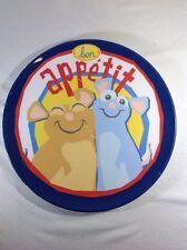 Disney Pixar bon Appetit Zak Designs Melamine Plate Collectable RARE