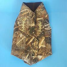 Realtree Tanglefree Neoprene Hunting Dog Vest, Size L
