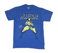 Marvel Comics X-men Wolverine Logo Weapon X Claws Out Retro Mens T Shirt