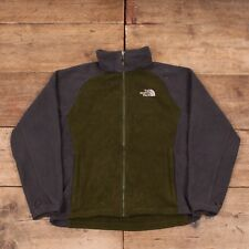 """Mens Vintage North Face Green Polyester Outdoors Fleece Jacket Small 36"""" R8641"""