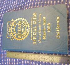 Vintage Kelley Blue Book Value Guides 1953-1960 Great Man Cave Display Cool Gift
