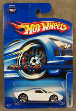 Hot Wheels ~ Ford Gt-40 ~ White