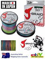 DAIWA J-BRAID Fishing Line (Multi Colour)