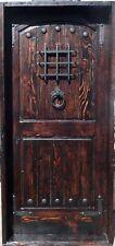 Rustic reclaimed lumber square top door solid wood castle winery U CHOOSE