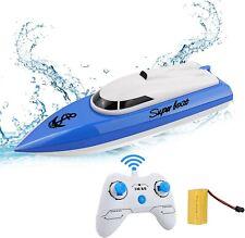 STOTOY RC Boot, Schnelle Geschwindigkeit Ferngesteuertes Boot, 2.4GHZ Fernbedien