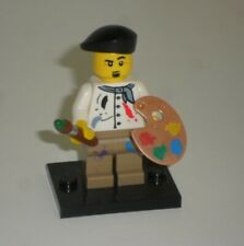 genuine lego minifigures the artist from series 4