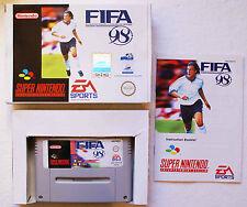 FIFA 98 sur Super Nintendo SNES