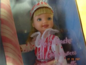 """Kelly , little  sister of Barbie, """"Peppermint  Girl"""" in Sugar Plum Nutcracker 20"""