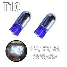 Super White T10 168 194 2825 w5w Reverse Backup Light Chrome Bulbs A1 LA