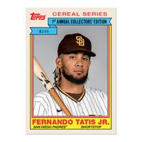 Fernando Tatis Jr Throwback Thursday Set #34 1984 Topps Cereal Series