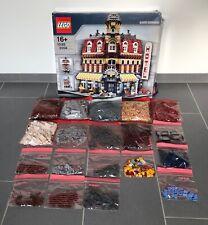 LEGO CREATOR 10182 Café Corner 100% completo incl. BOX SENZA ISTRUZIONI