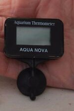 Submersible DIGITAL Thermometer for aquarium - sucker for fish tank glass