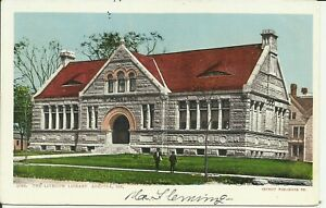 Augusta, Me., The Lithgow Library
