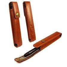 Alston Craig Personalizzato in pelle Pen Holder Case-Marrone (Inc MontBlanc)