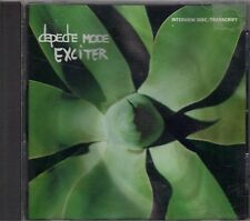 DEPECHE MODE  Exciter  promo interview CD with PicCover