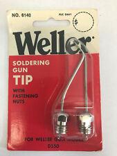 Weller 6140 Soldering Gun Tip with fastening nuts for Weller Gun Model D550