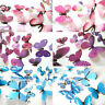 12pcs 3D DIY Wall Sticker Stickers Butterfly Home Decor Room Decorations Newest