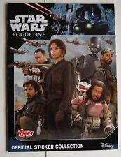 Topps Star Wars Rogue One Stickers and Album Complete Set
