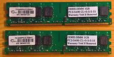 DDR2 G.SKILL F2-5400PHU1-1GBNT 2x1Go 675MHz CAS 5-5-5-15