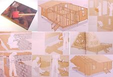 TL CABIN Cot.Building Log Hewn A-FRAME Framing Pole Timber Roof truss Beam Pier